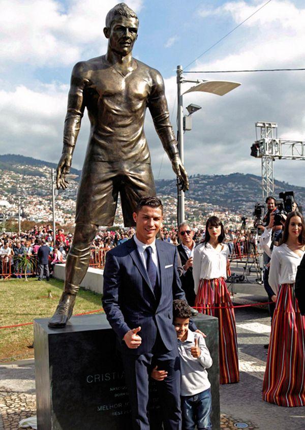Statua Kristijana Ronalda u Lisabonu
