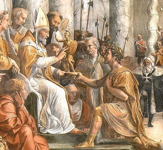 Donacija (rad slikara Rafaela između 1519 i 1525)