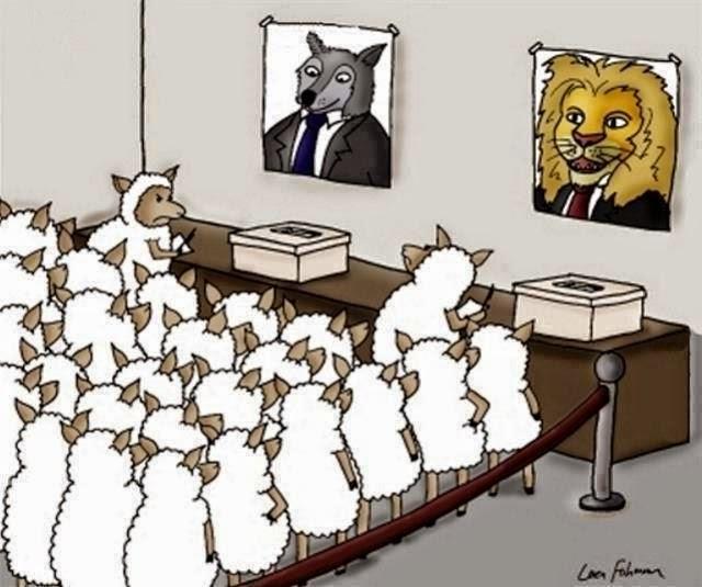 """""""Ovce"""" na """"demokratskim izborima"""""""