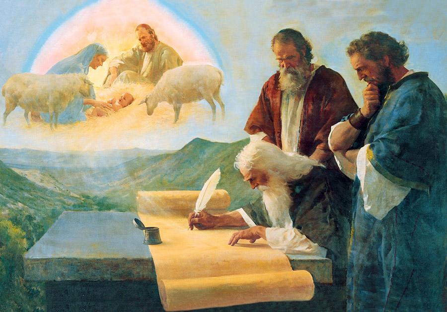 Isaija zapisuje proročanstva o Mesiji