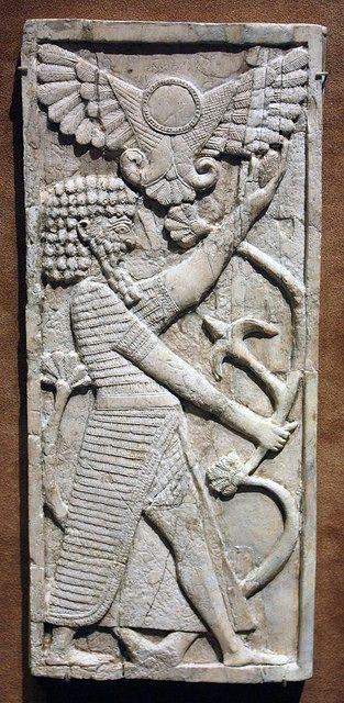Jedna od antičkih predstava Nimroda