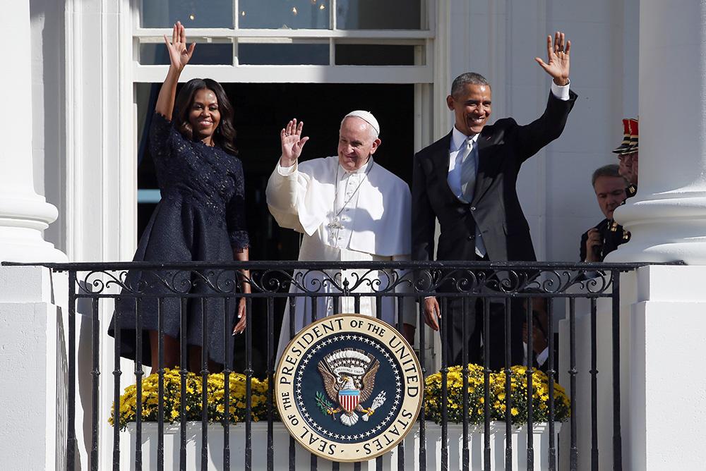Papa Franćesko i predsjednik SAD Obama u Bijeloj kući