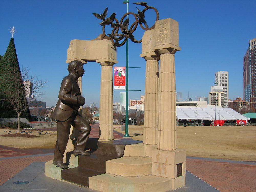 Spomenik Kubertenu u Atlanti
