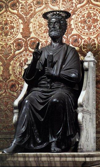 Sv. Petar - Jupiter u Vatikanu