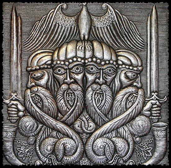 Svetovid - četvoroglavi bog