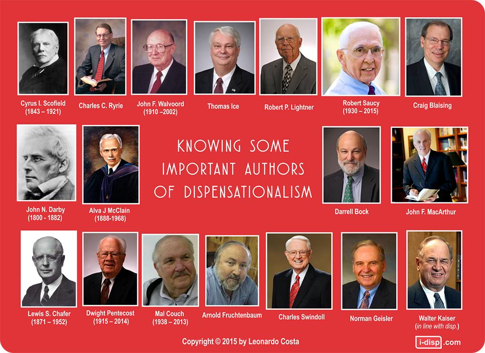 Dispenzacionalistički autori