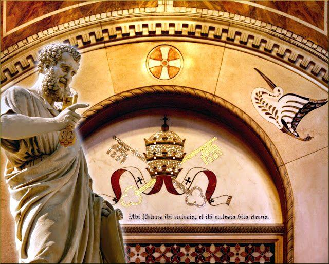 Lažni Petar ključar - modifikovana statua Jupitera