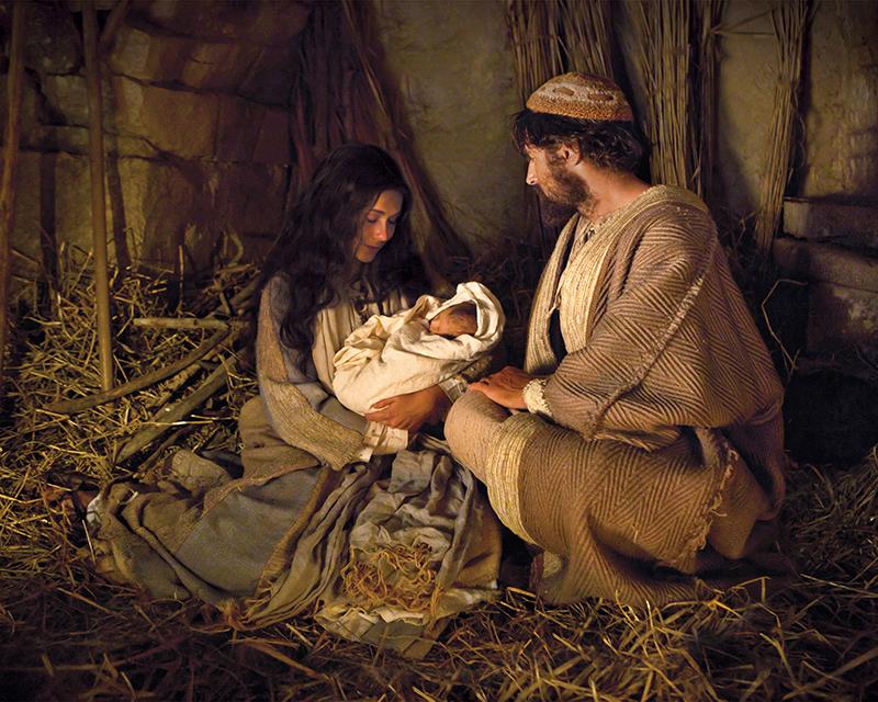 Marija i Josif - ilustracija
