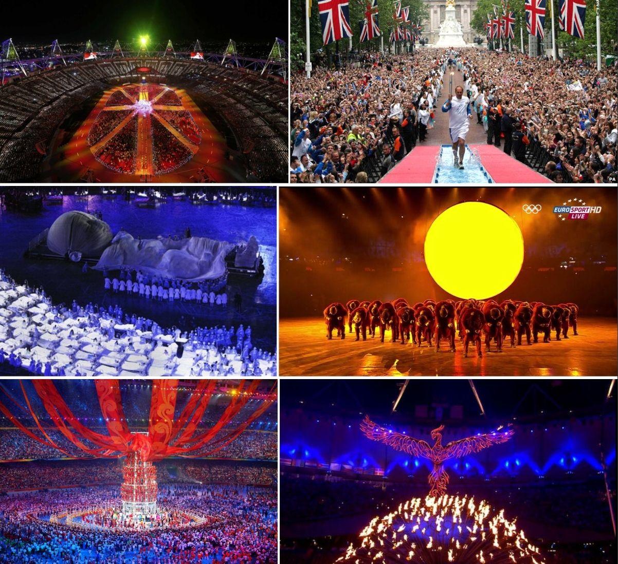 Neke upadljivo okultne scene sa otvaranja OI u Londonu i Pekingu