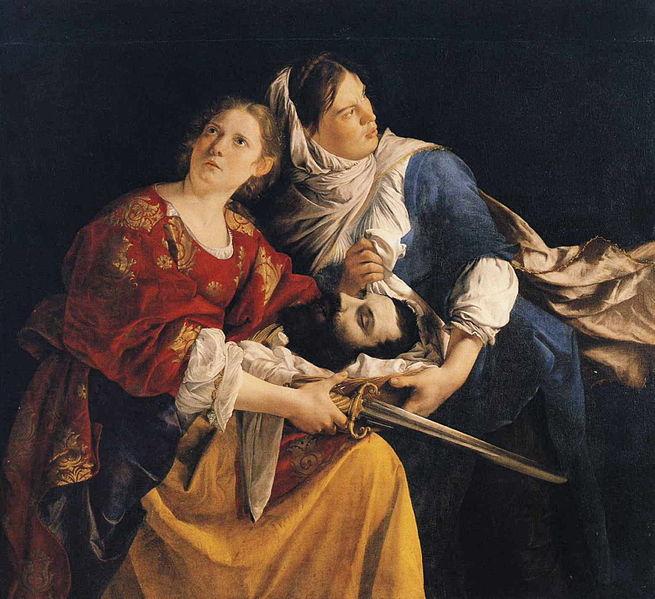 Orazio Gentileschi - Judita i njena sluškinja sa glavom Holofernesa