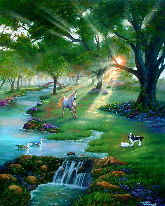 Rijeka zivota (ilustracija)