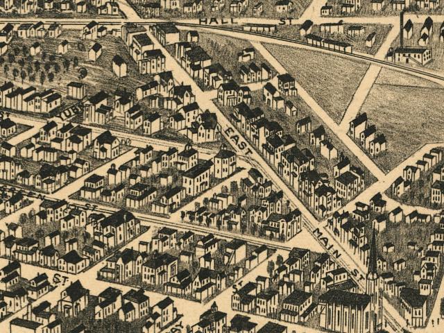 Battle Creek; Michigan, 1880