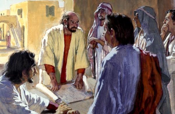 Pavlov izvještaj iz Antiohije na saboru u Jerusalimu